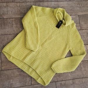 Rag & Bone Lime Green Sweater 593